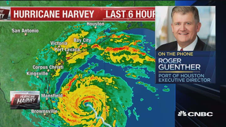 Port Of Houston Step Ahead As Harvey Threat Looms Roger Guenther - Port of houston map