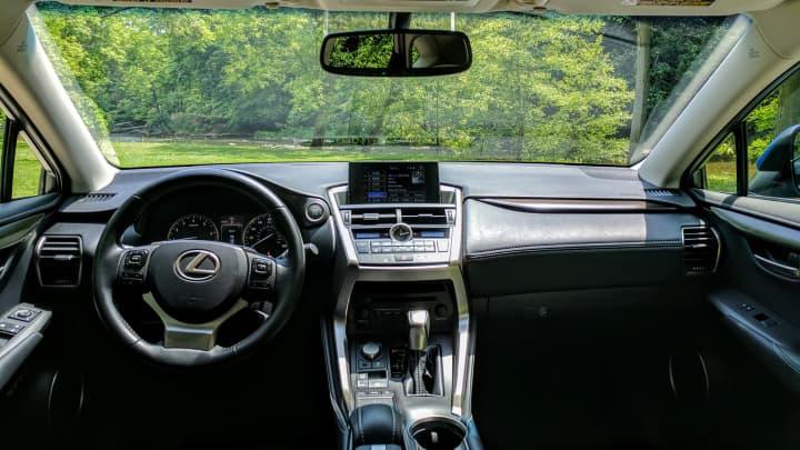 CNBC Tech: Lexus NX200t 3