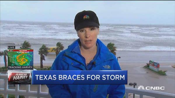 Texas braces for Harvey