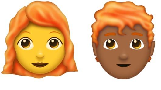 Proposed red hair emoji | Emojipedia
