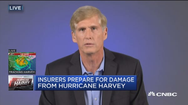 Landfall brings unpredictability: Allstate Senior VP on Harvey