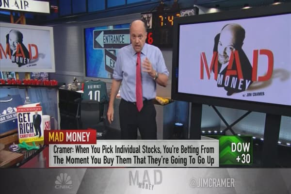 Cramer's guide to finding bulletproof stocks using charts