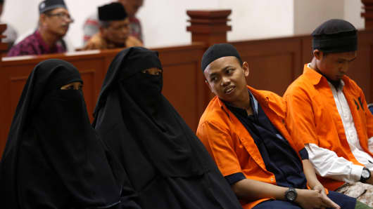 Woman sentenced to 7 ½ years in prison for Indonesia plot