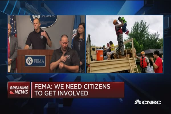 FEMA's Brock Long: Security is a main concern