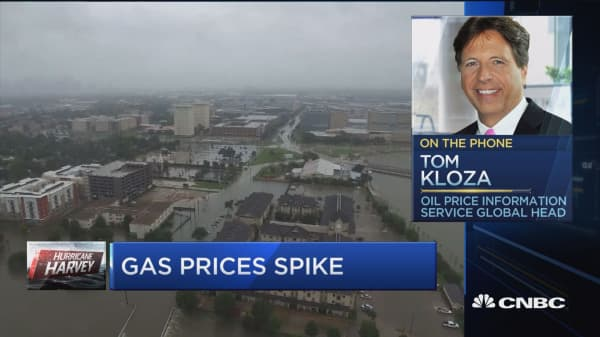 Looking at 'mini-gasoline spike' after Harvey: Tom Kloza