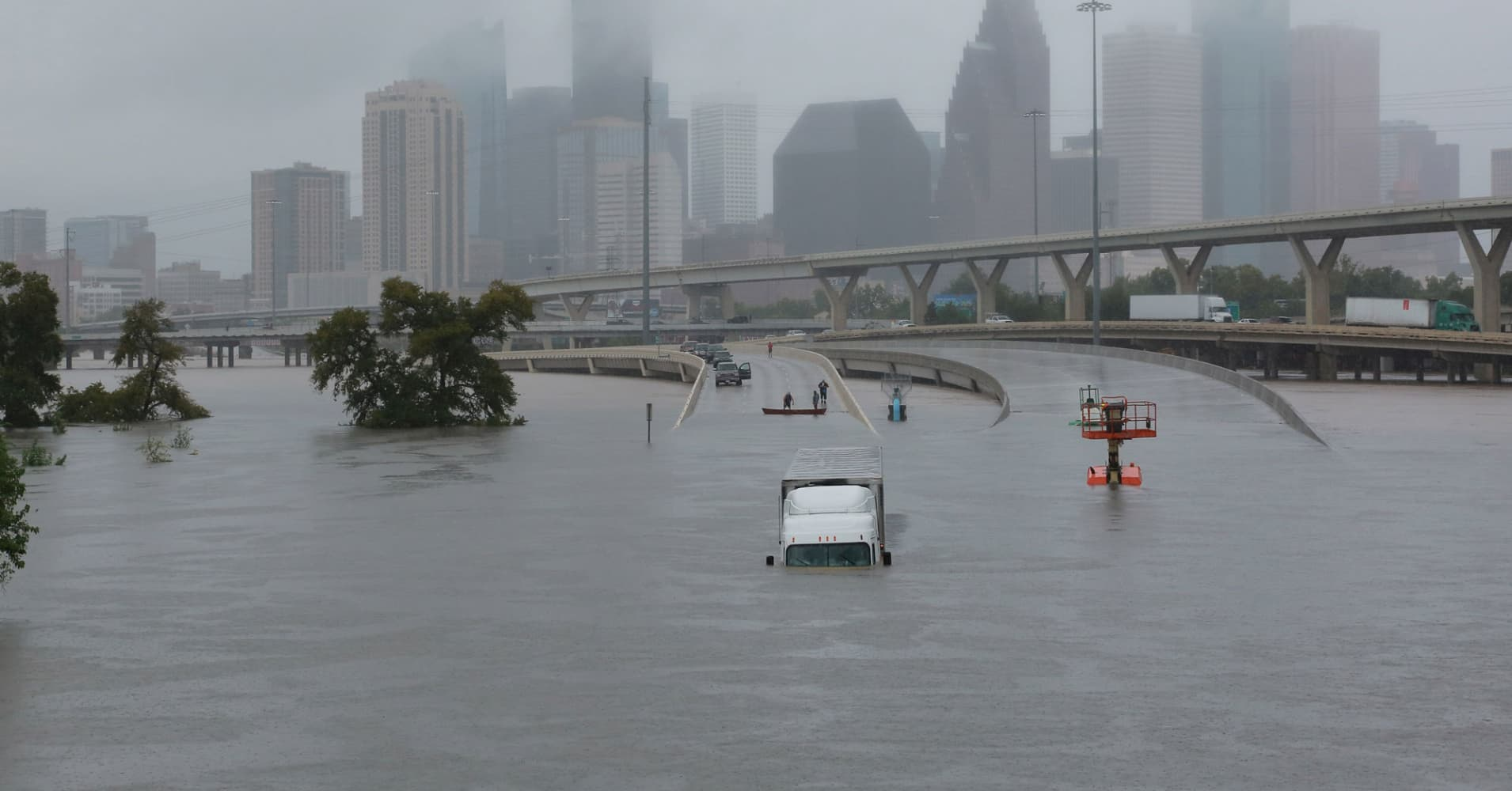 The stunning images from record-setting flooding in ...