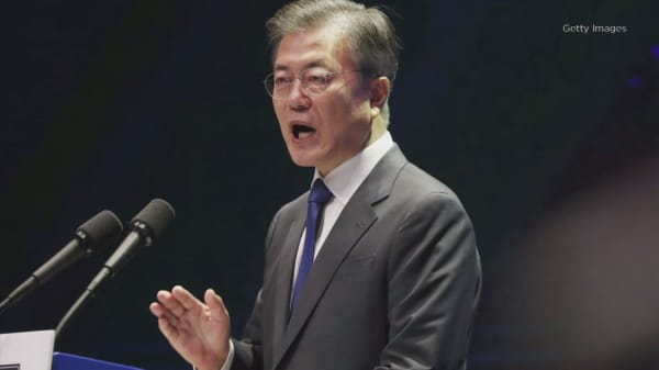 South Korean President Moon reportedly tells military to toughen up