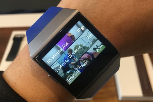 First look at Fitbit's long-awaited $300 Ionic smartwatch