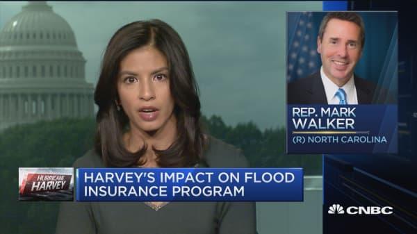 How Hurricane Harvey could affect the US' national flood insurance program