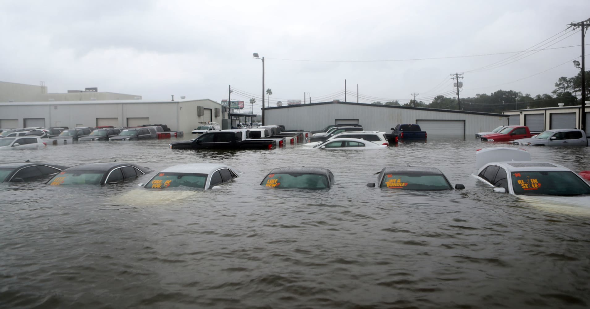 Hurricane Harvey Slams Auto Industry