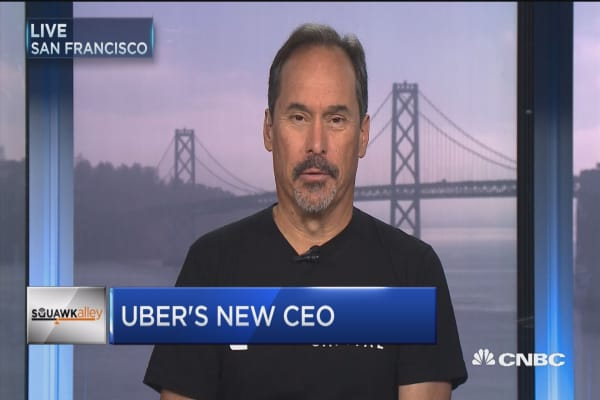 Early Uber investor: Expedia CEO seems like a very good choice for ride-sharing company