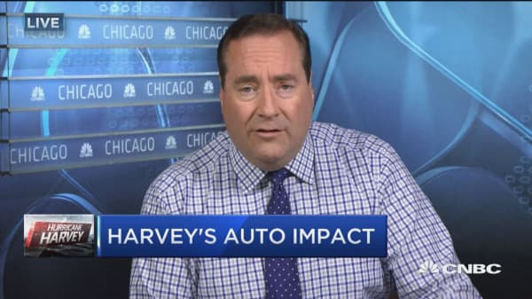 Hurricane Harvey impacts more than 500 auto dealers in Houston area