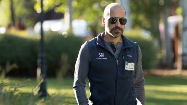 Uber's new CEO, Dara Khosrowshahi