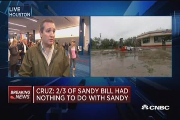 Sen. Ted Cruz on Hurricane Harvey: Texas will rebuild