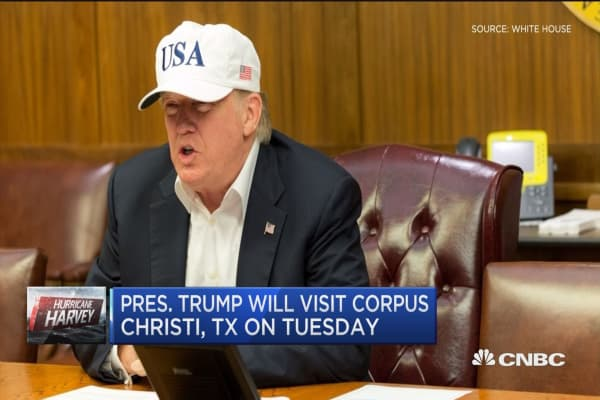 Pres. Trump will visit Corpus Christi on Tuesday