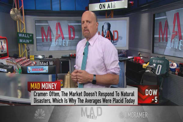 Cramer: Why this stock matters more to the market than Hurricane Harvey