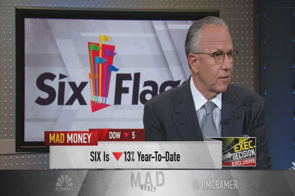 How Six Flags CEO Jim Reid-Anderson proved theme park giant's value