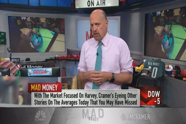 Cramer: Why Apple matters more to the market than Hurricane Harvey