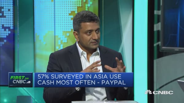57% of Asia Pacific still relies on cash: PayPal