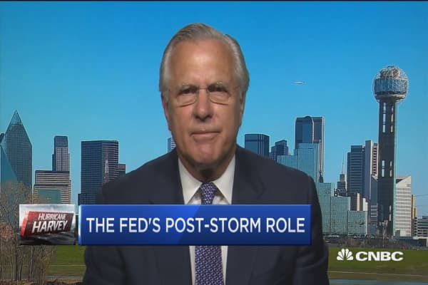 Getting cash into the system after Harvey: Fmr. Fed's Richard Fisher