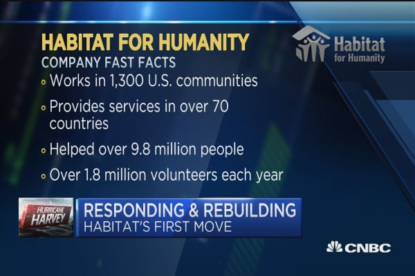 Habit for Humanity CEO: Three phases of disaster relief and recovery