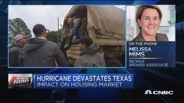 Hurricane Harvey devastates housing market