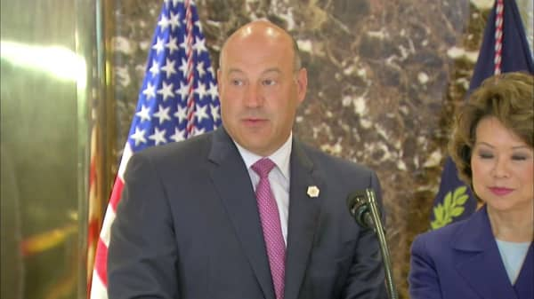 'Only morons pay the estate tax,' says White House's Gary Cohn
