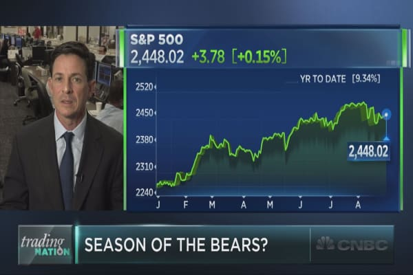 Season of the bears?