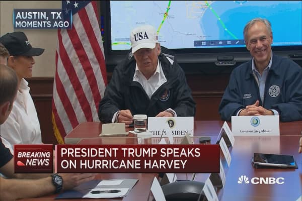 Trump: We are going to work with Congress on helping Texas