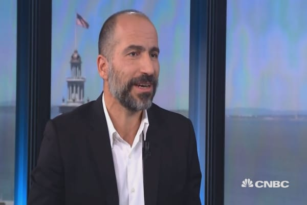 Uber's new CEO has an inspiring message about immigration