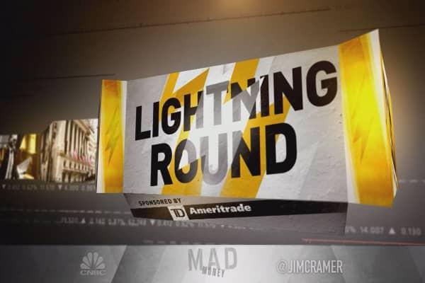 Cramer's lightning round: Here's the problem with MoneyGram