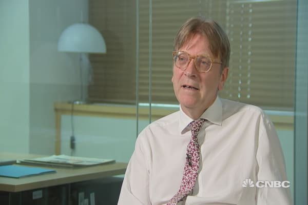 There is a fear that Brexit hardliners don't want to negotiate, says Guy Verhofstadt