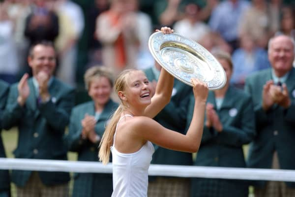 Maria Sharapova won her first Grand Slam at age 17