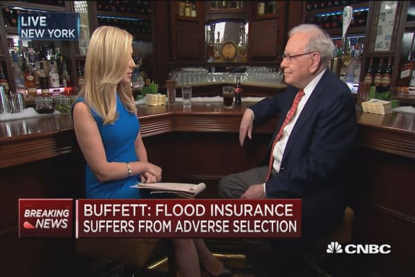 Buffett: This doesn't feel like a 3% GDP economy