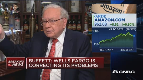 Buffett: Retailers care about strength of specific brands