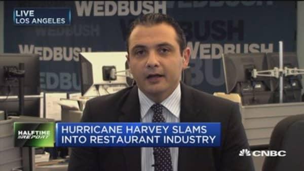 Hurricane Harvey slams into restaurant industry