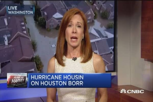 Hurricane housing impact on Houston borrowers