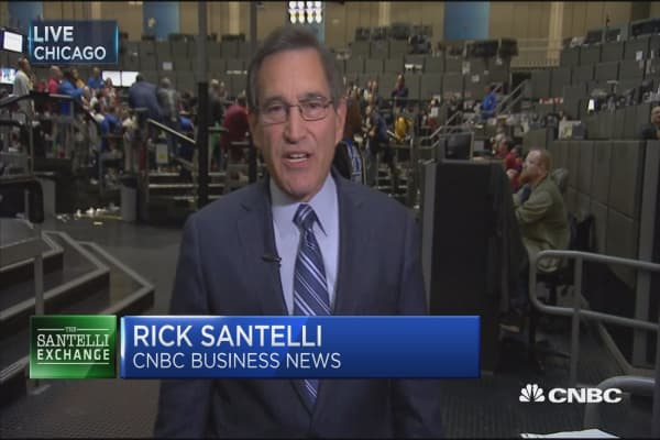 Santelli Exchange: Debt ceiling issues rise, treasury yields fall