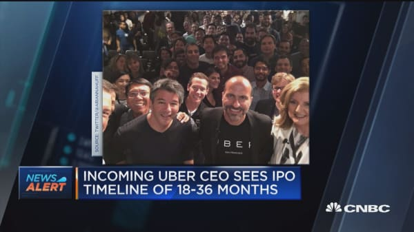 Was uber an ipo before going public