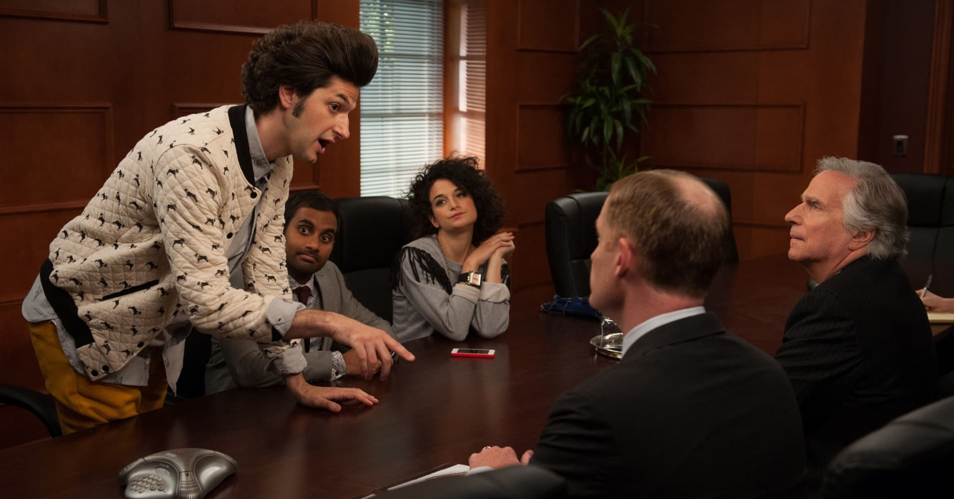 "Ben Schwartz as Jean-Ralphio on NBC's ""Parks and Recreation"""