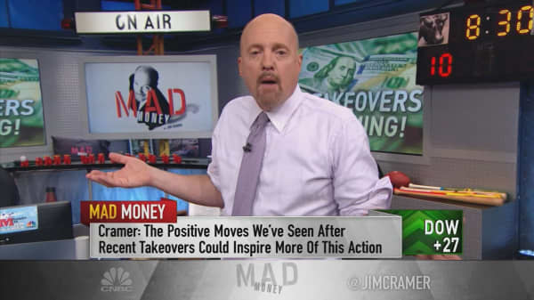 Cramer: This trend could lead to surge in takeovers