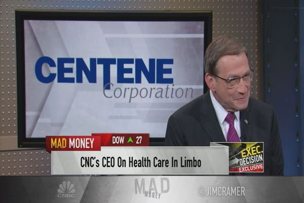 Centene Corp. CEO details federal health care recommendations as Congress stalls