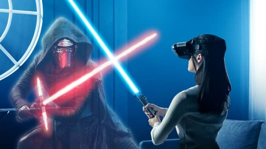 Awaken your inner Jedi with this newly revealed Star Wars AR game