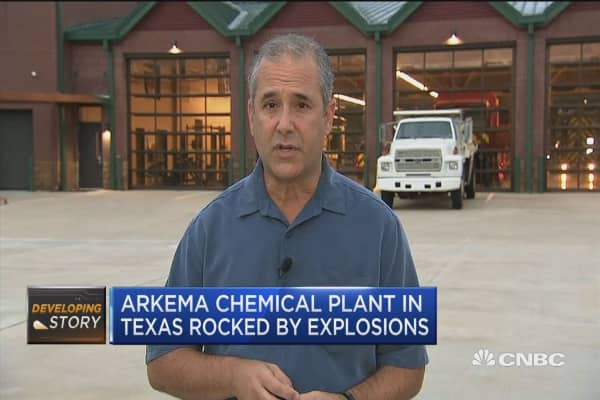 Officials say Arkema containers 'popped', not exploded