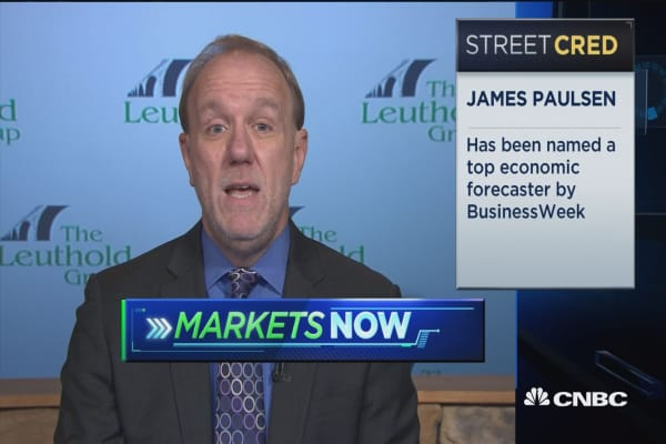 Expect stock market to continue to trend higher: Leuthold Group's James Paulsen