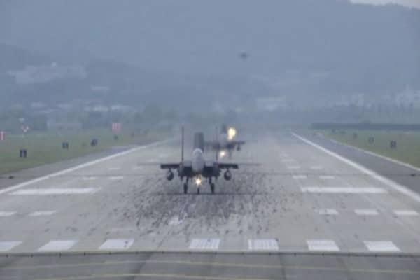 US flies bombers, fighters in show of force against N.Korea