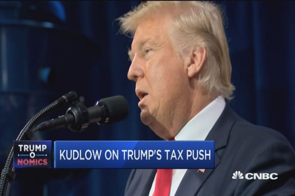 Larry Kudlow: Trump makes powerful argument for growth, jobs, wages