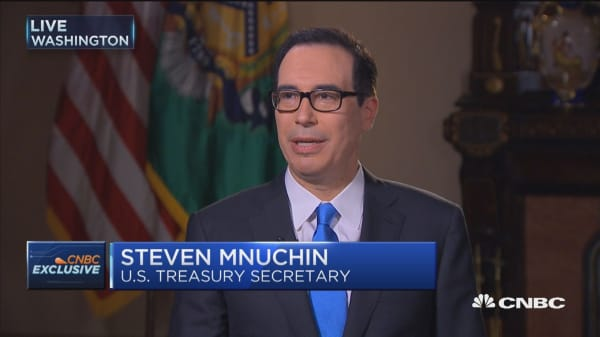Secretary Mnuchin: We have a very detailed tax plan