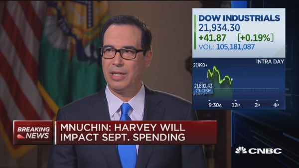 Secretary Mnuchin: No question debt ceiling will be raised