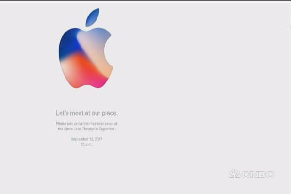 Apple event is first to be held in new headquarter theater